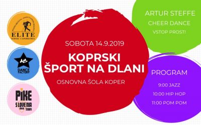 Koprski šport na dlani in Dnevi odprtih vrat koprskega športa!